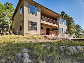 Flagstaff Home With Decks, Patio And Forest View! photos Exterior