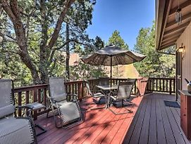 Cabin W/Large Deck ~1Block To Coconino Forest photos Exterior