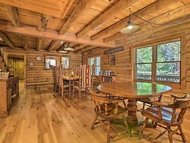 Custom Cabin W/ Private Deck, 5 Mi To Hiking! photos Exterior