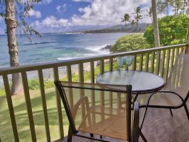 Kapa'A Sands 13 Ocean Front Studio With Kitchen photos Exterior