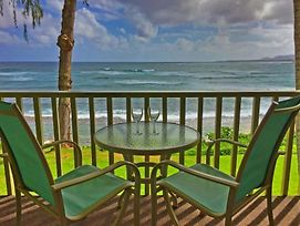 Kapa'A Sands 11 Ocean Front Studio With Kitchen photos Exterior