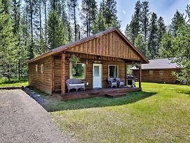 Custom Cabin W/Grill-7 Miles To West Glacier! photos Exterior