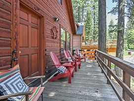 Rustic Tahoe City Cabin W/ Deck - Walk To Lake photos Exterior