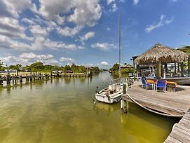 New! Waterfront San Leon Studio Great For Fishing! photos Exterior