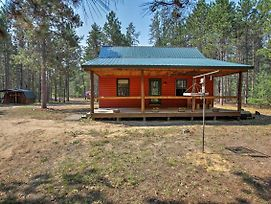 Private South Boardman Cabin On 10 Forest Acres! photos Exterior