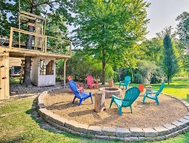 'No Wake Zone' Pickwick Home W/ Patio In Counce! photos Exterior
