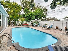 St Petersburg Home W/Pool-4 Miles From Downtown! photos Exterior
