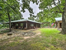 'Pine Lodge Cabin' On 450 Acres In Ozark Mountains photos Exterior