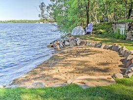 Waterfront Crosslake House W/ Private Dock & Beach photos Exterior
