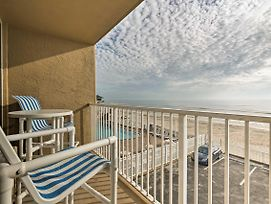 Oceanfront Daytona Beach Studio W/ Balcony & Pool! photos Exterior
