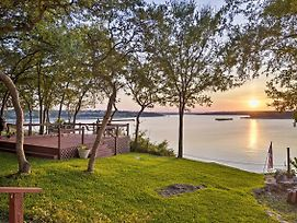 Belton Lake Studio W/ Deck On The Waterfront! photos Exterior