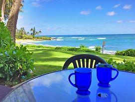 Kapa'A Sands 6 Ocean Front Studio With Kitchen photos Exterior