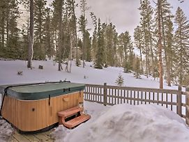 Cozy Cabin W/ Hot Tub - Near Hiking & Skiing! photos Exterior