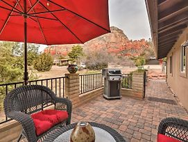 Sedona Apt W/ Patio, Bbq & Red Rocks Views! photos Exterior
