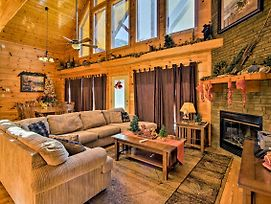 Cabin W/Hot Tub & Game Room 4 Mi To Smoky Mtn photos Exterior