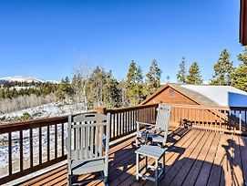 Secluded Fairplay Home W/ Deck, Grill & View! photos Exterior
