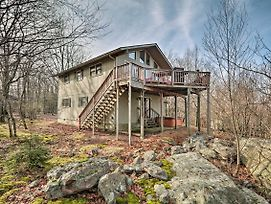 Lake Harmony Home With Ideal Location And Hot Tub! photos Exterior