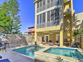 Updated South Padre Home W/Pool - 1 Block To Beach photos Exterior