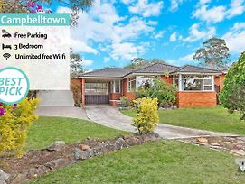 Your Holiday Home Campbelltown 3 Bed + Free Parking photos Exterior