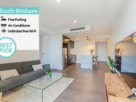 South Brisbane Kozy 1Bed Apt + Free Parking Qsb001 photos Exterior