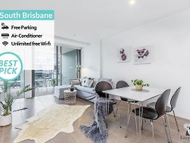 South Brisbane Brand New 1Bed Apt Parking photos Exterior