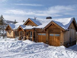 New Listing! Mountain-View Lodge W/ Fireplace And Hot Tub Cabin photos Exterior
