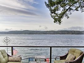 Waterfront Puget Sound Home W/ Hot Tub & Dock photos Exterior