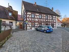 Apartment In An Historic Half-Timbered House In Franconian Switzerland photos Exterior