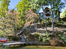 Lakefront Privacy On A Large Wooded Lake Lure, Lakefront Home photos Exterior