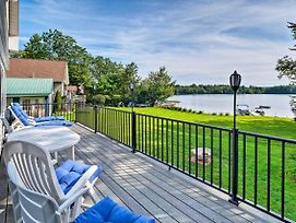 Updated Oakland Cottage W/Deck On Mcgrath Pond! photos Exterior