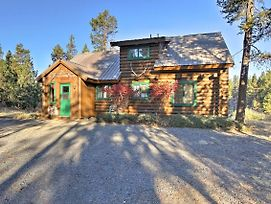 Private Log Cabin In Bend With Deschutes River View! photos Exterior