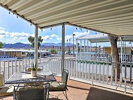 Quiet Escape Steps To Lake Havasu W/Views & Grill! photos Exterior