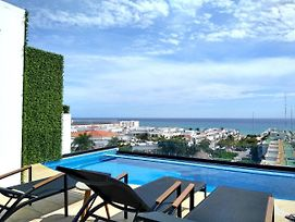 Ocean View From The Rooftop Pool Only One Block To The Beach Studio For 2 photos Exterior