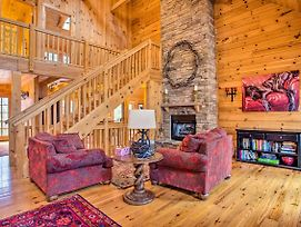 Luxury Cabin W/ Deck Less Than 5 Miles To Sapphire Valley! photos Exterior