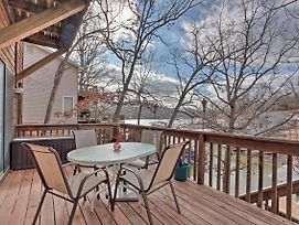 House W/ Dock In Cove On Lake Of The Ozarks! photos Exterior