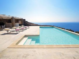 Spectacular Sunset View Villa At Melissaki photos Exterior