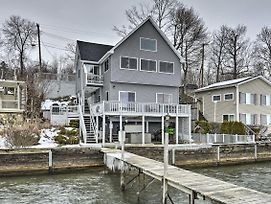 Waterfront Home W/Hot Tub + Kayaks + Dock! photos Exterior