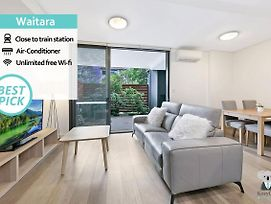 Waitara Station Designer 2Bed Apt + Parking Nwa008 photos Exterior