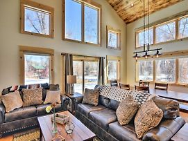 Riverfront Home W/Bbq, 2 Mi To Dtwn Gunnison! photos Exterior