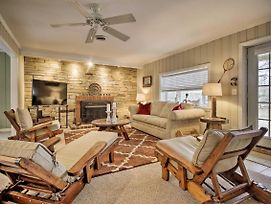 Waterfront Getaway With Fire Pit And Fishing Pier! photos Exterior