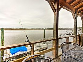 Waterfront Midway Home W/ Private Dock & Grill! photos Exterior