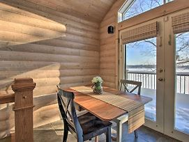 Woodsy Cabin On Camp Lake W/Boat Slip & Dock! photos Exterior