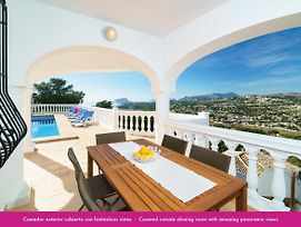 Luxury Apartment With Private Pool And Sea Views In Moraira photos Exterior
