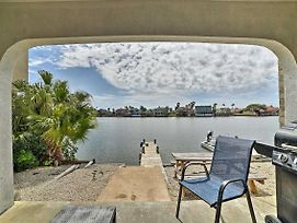 Canalfront Condo With Dock Less Than 2 Mi To The Beach! photos Exterior