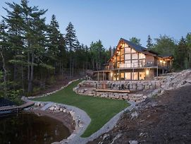 Amazing A-Frame Chalet On Private Lake photos Exterior