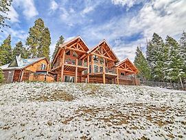 Luxe Log Cabin W/Hot Tub, Event/Pet Friendly! photos Exterior