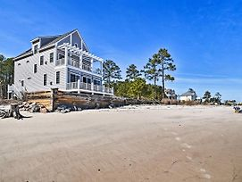 Waterfront Mobjack Bay Beach House In Gloucester! photos Exterior