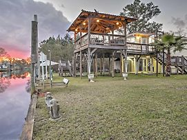 Bay St Louis House With Deck On Breath Bayou River! photos Exterior