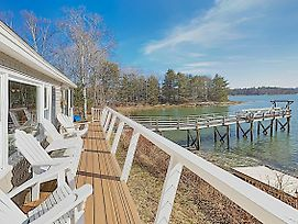 New Listing! Gull Cottage: Waterfront Gem W/ Dock Home photos Exterior
