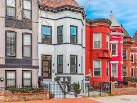 Elegant Washington Dc 3 Bedroom Victorian Row House photos Exterior